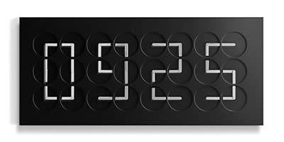 Humans since 1982 ClockClock 24 - Black Edition