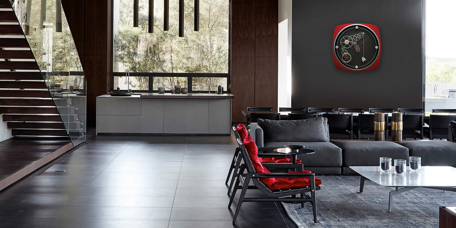 Indianapolis Red Fire by Meccaniche Orologie Milano