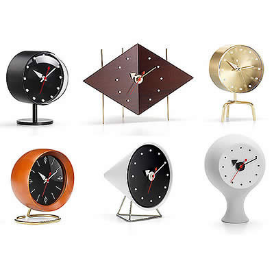 george nelson desk clocks