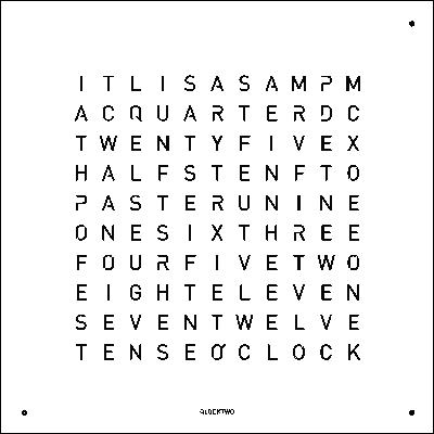 QLOCKTWO 180