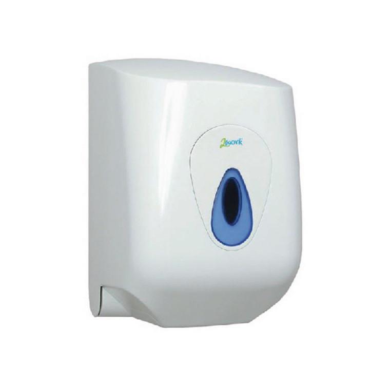 CT34038 2Work Lockable Centrefeed Hand Towel Dispenser CT34038