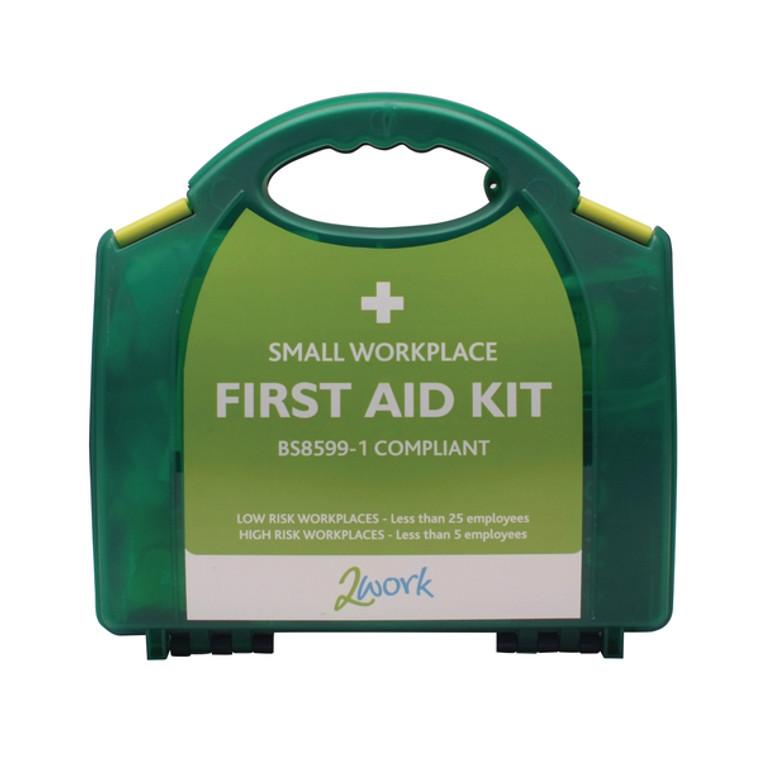 2W99437 2Work Small BSI First Aid Kit 2W99437