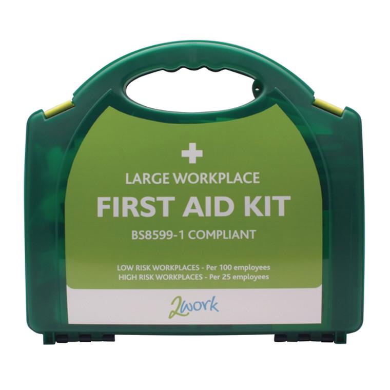 2W99439 2Work Large BSI First Aid Kit 2W99439