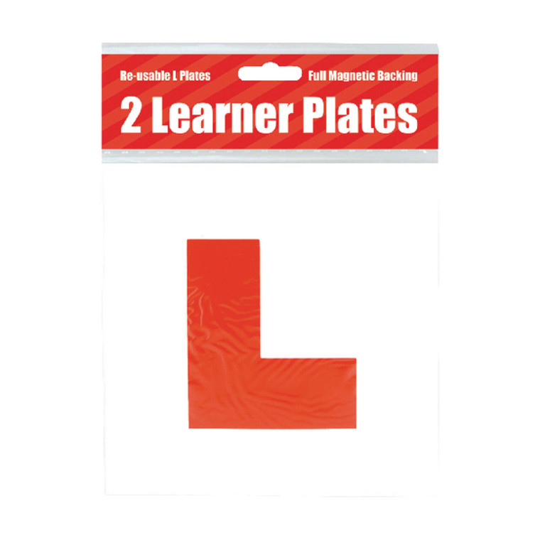 POF01844 2 Magnetic L Plates Pack 10 C398
