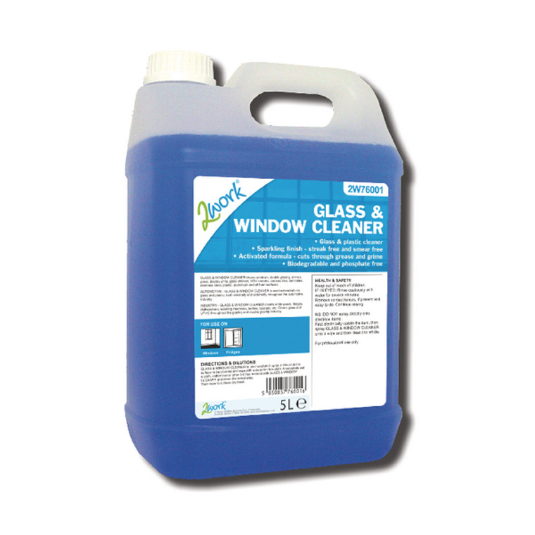 2W76001 2Work Glass Window Cleaner 5 Litre 701