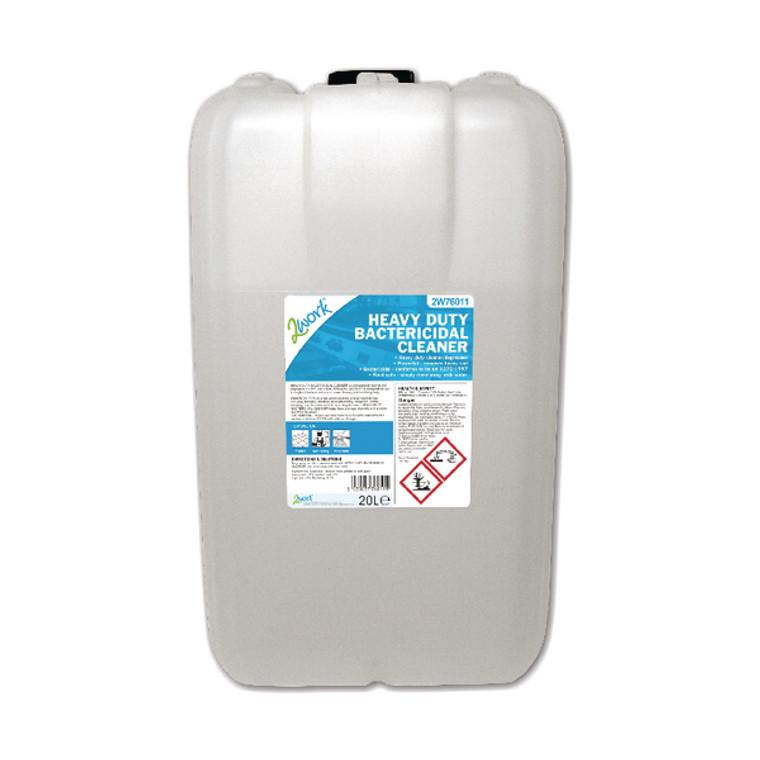 2W76011 2Work Heavy Duty Bactericidal Cleaner 20 Litre 2W76011