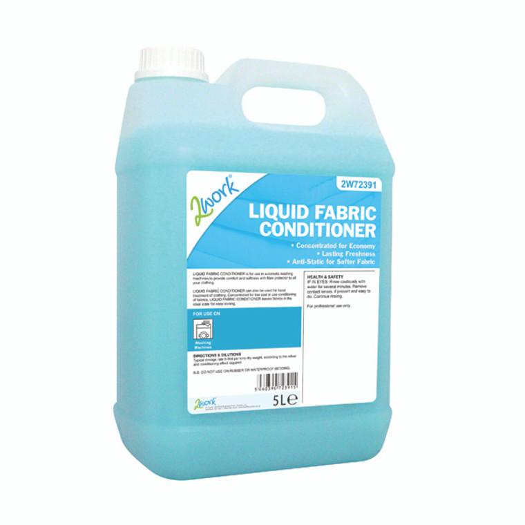 2W72391 2Work Liquid Fabric Conditioner 5 Litre 2W72391