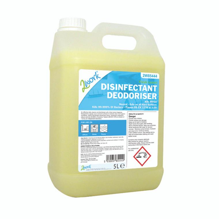 2W85444 2Work Disinfectant Deodoriser 202
