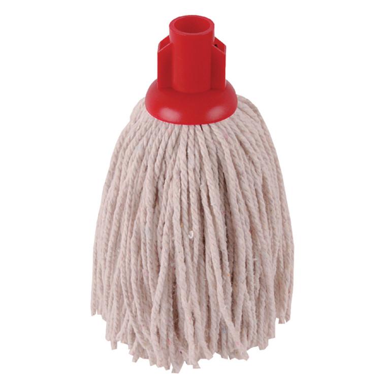 2W04301 2Work PY Smooth Socket Mop 12oz Red Pack 10 101869R