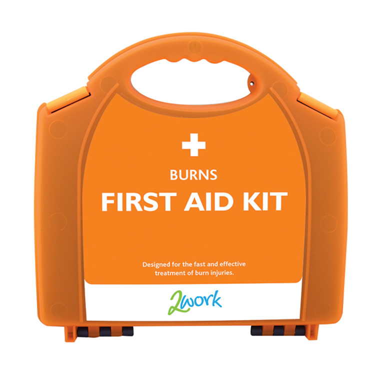 2W04991 2Work Burns First Aid Kit Small X6090