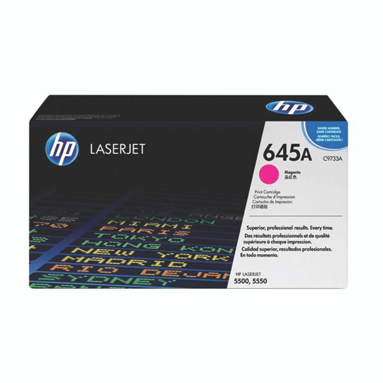 C9733A HP C9733A 645A Magenta Toner
