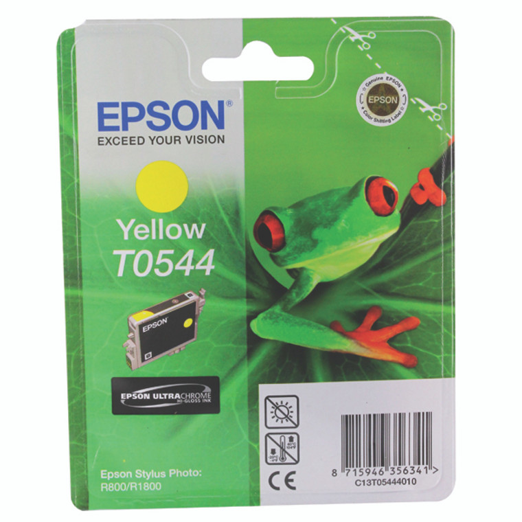 T054440 Epson C13T054440 T0544 Yellow Ink Cartridge Frog