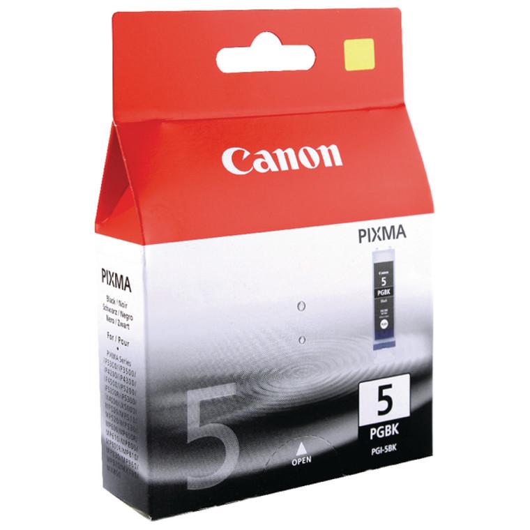 PGI-5BK Canon 0628B001 PGI-5 Black Ink Cartridge