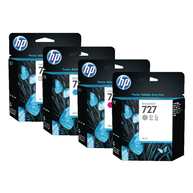 C1Q12A HP C1Q12A 727 Matte Black Ink Cartridge