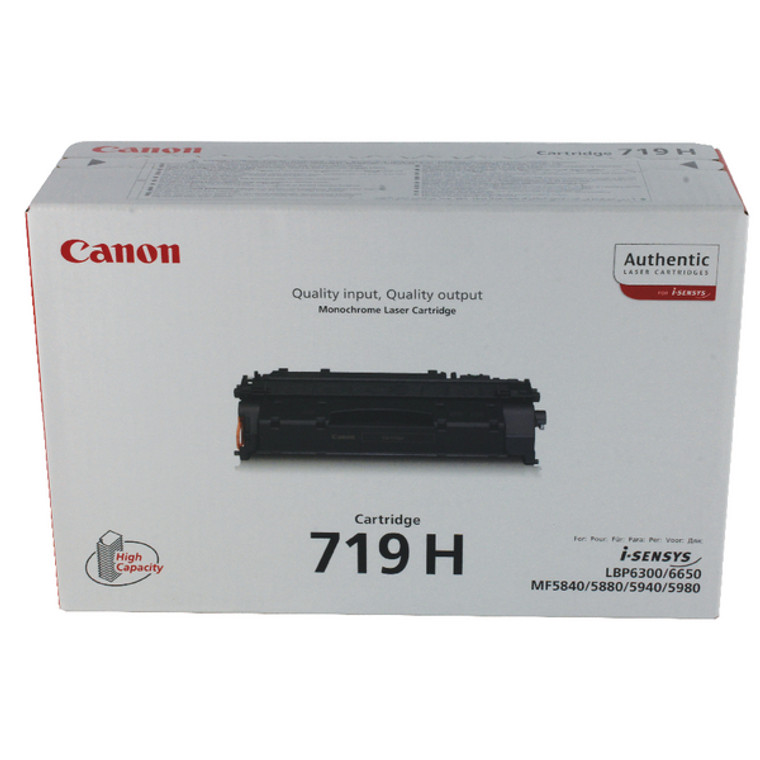 3480B002AA Canon 3480B002 719H Black Toner High Capacity