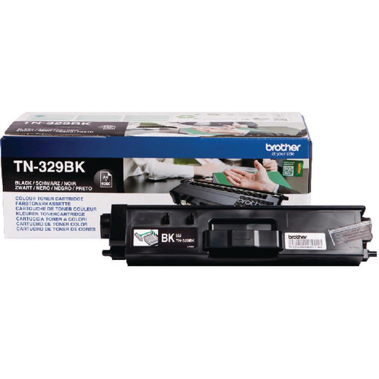 TN329BK Brother TN-329 BK Black Toner Extra High Yield