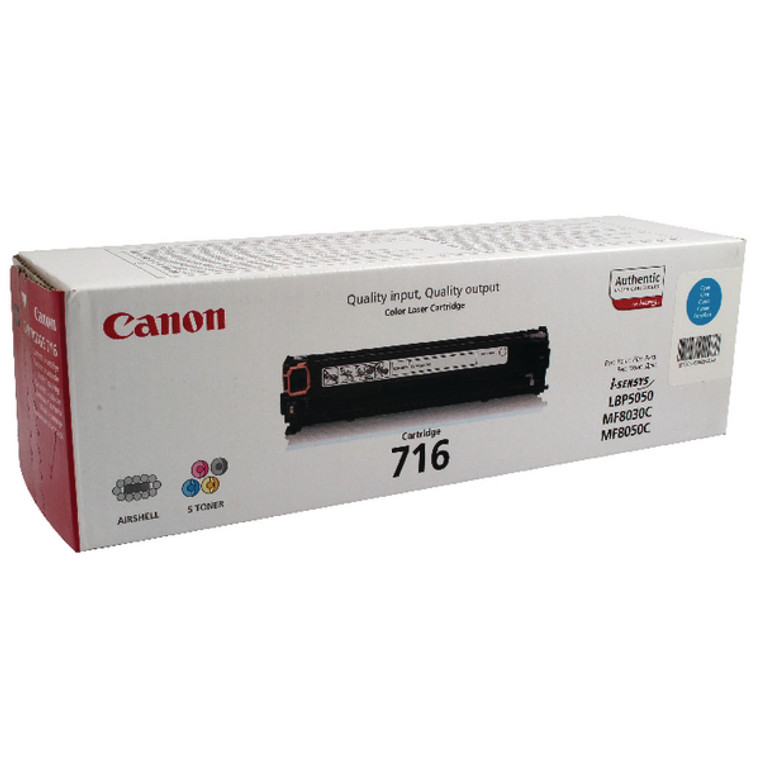 1979B002 Canon 1979B002 716 Cyan Toner
