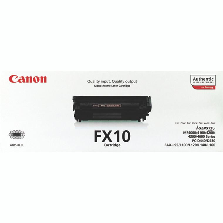 0263B002 Canon 0263B002 FX-10 Black Toner