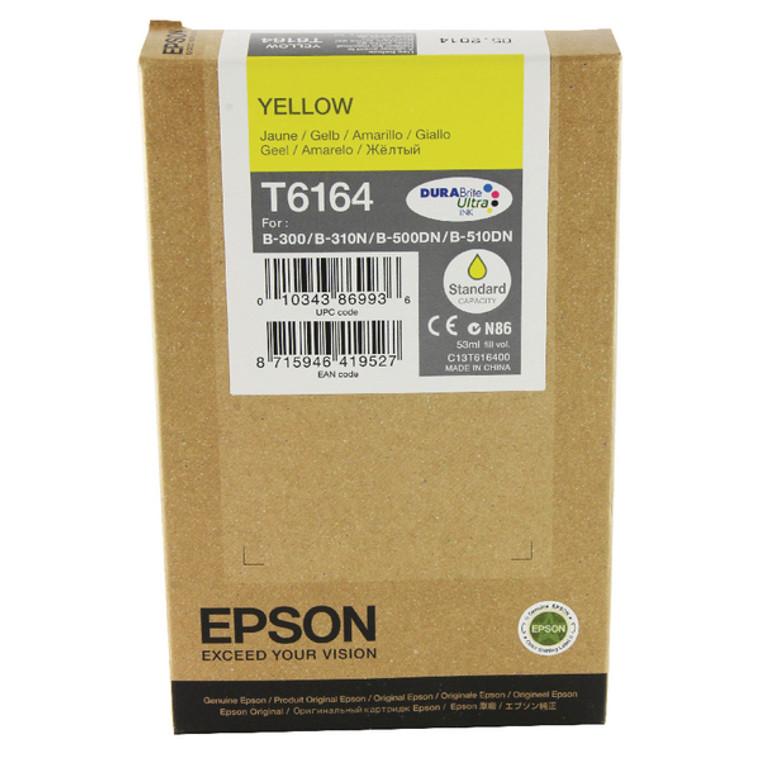 C13T616400 Epson C13T616400 T6164 Yellow Ink Cartridge