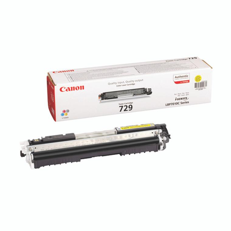 4367B002AA Canon 4367B002 729 Yellow Ink Cartridge