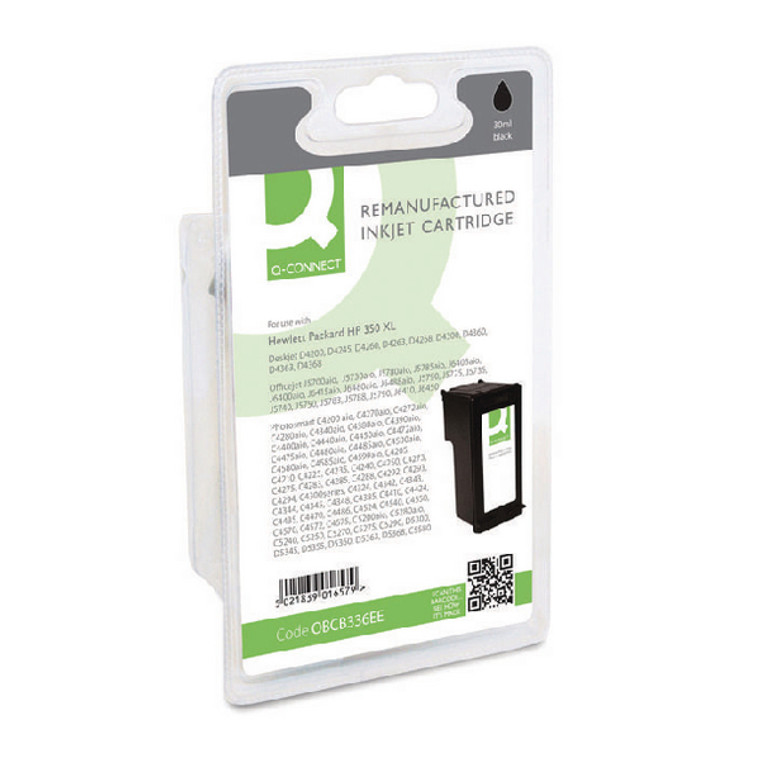 OBCB336EE Compatible replace HP CB336EE 350XL Black Ink Cartridge High Capacity