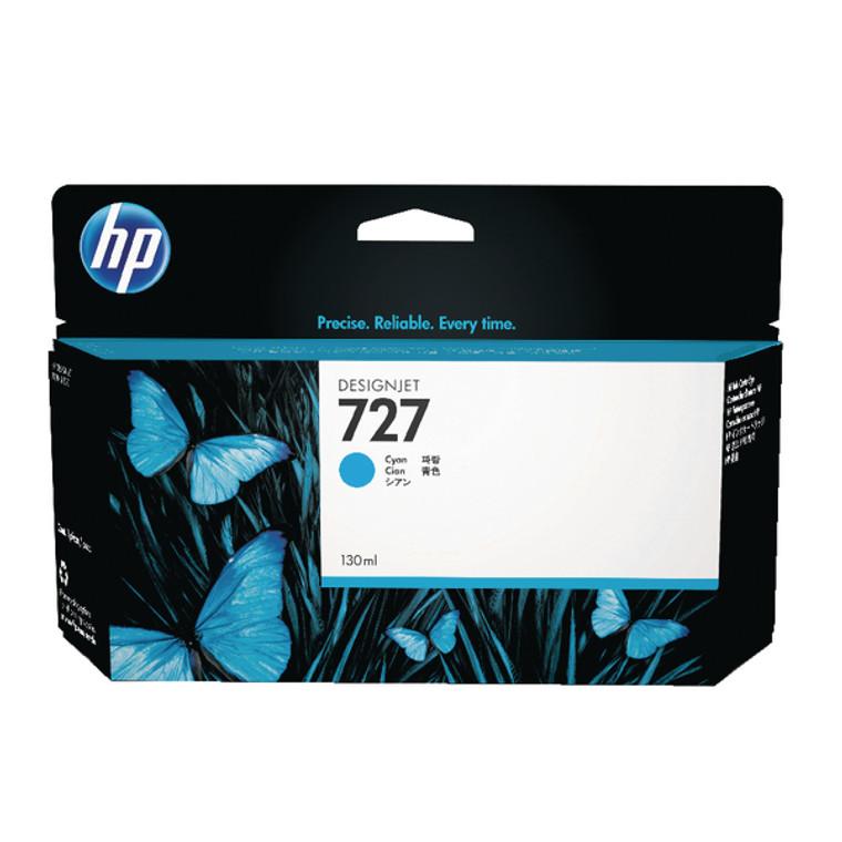 B3P19A HP B3P19A 727 Cyan Ink Cartridge High Capacity