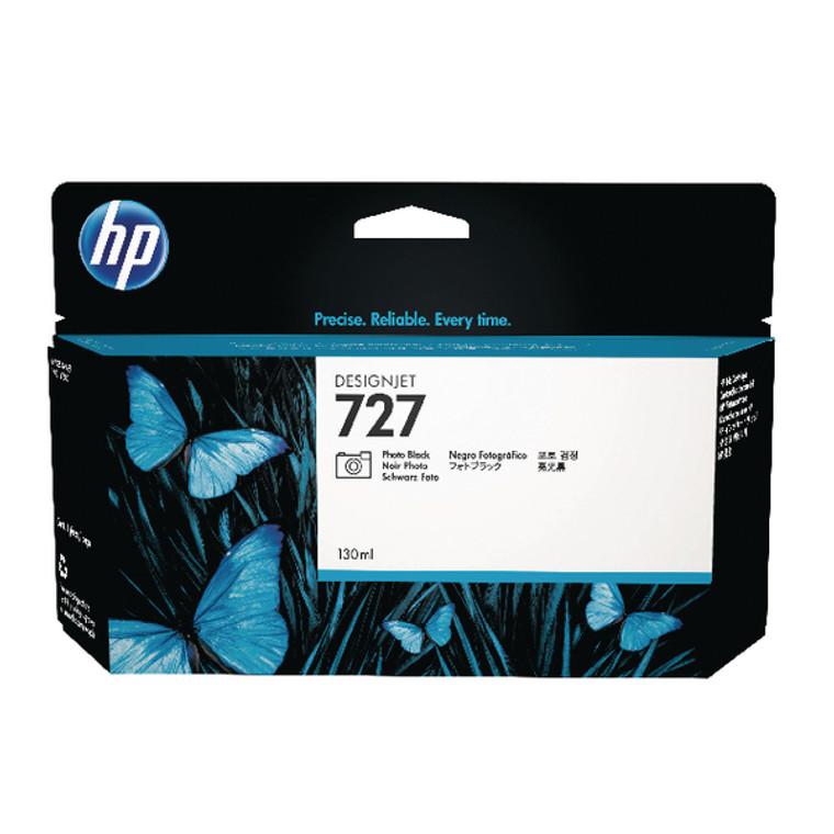 B3P23A HP B3P23A 727 Photo Black Ink Cartridge High Capacity