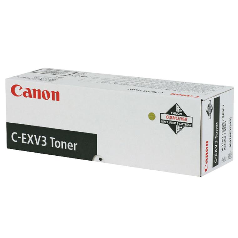 6647A002AA Canon 6647A002 C-EXV 3 Black Toner