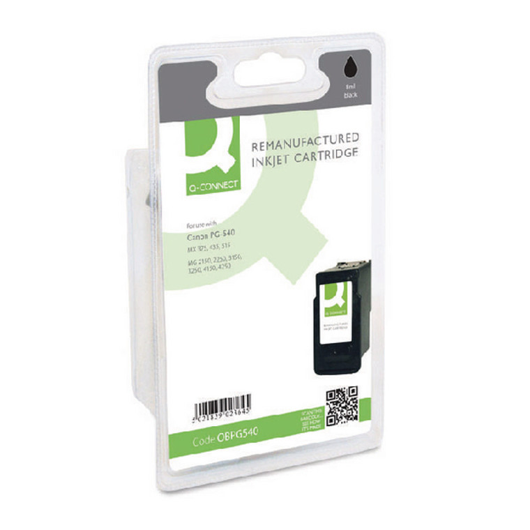 OBPG540 Compatible replace Canon PG-540 Black Ink Cartridge