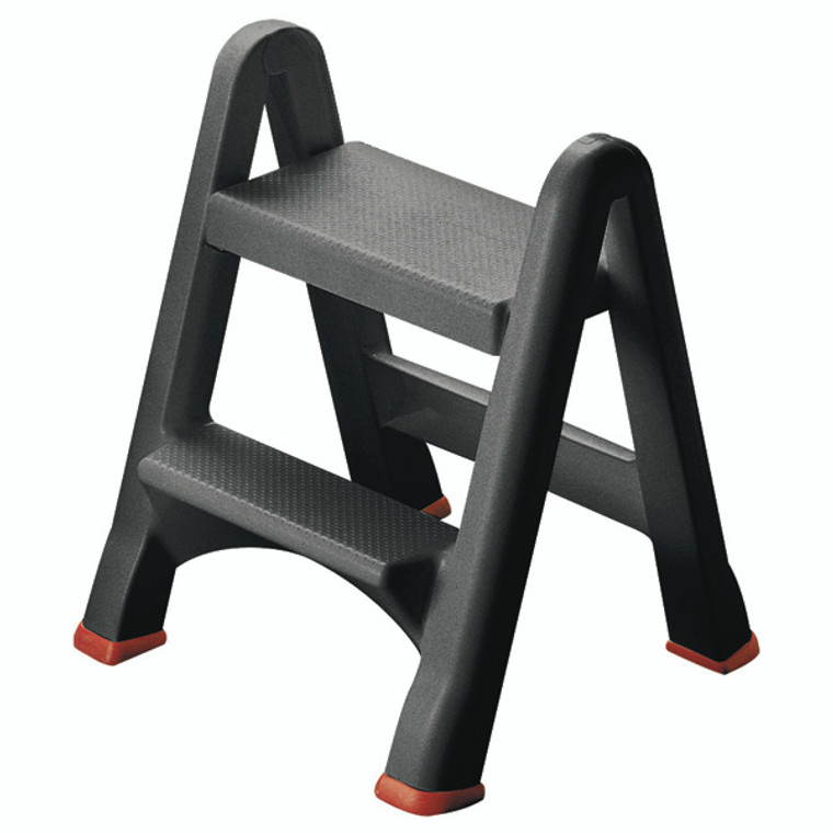 SBY14528 Folding Plastic Step Stool Black 333650