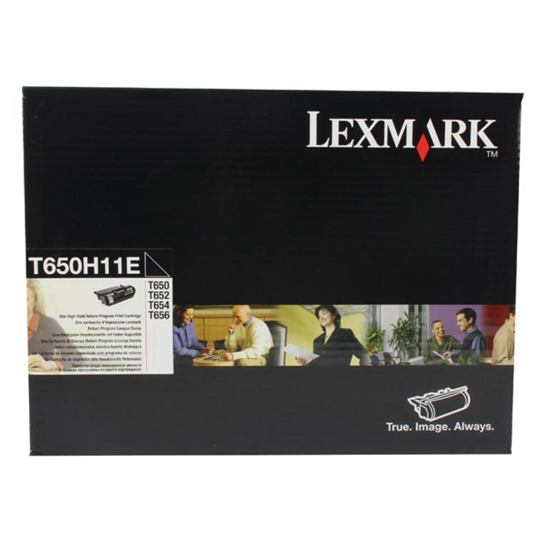 T650H11E Lexmark T650H11E Black Toner Use Return
