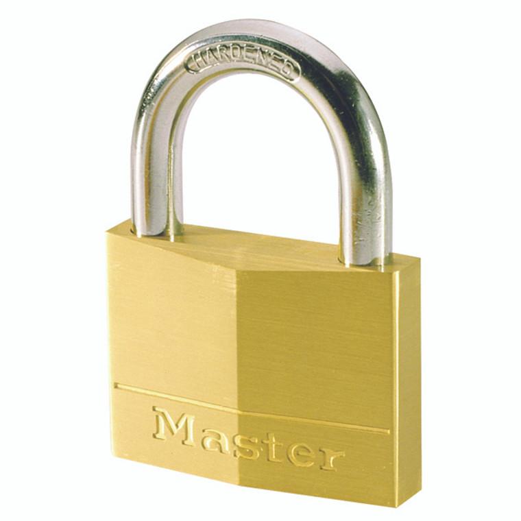 AC92908 Master Lock Magnum Padlock 30mm Brass 40043