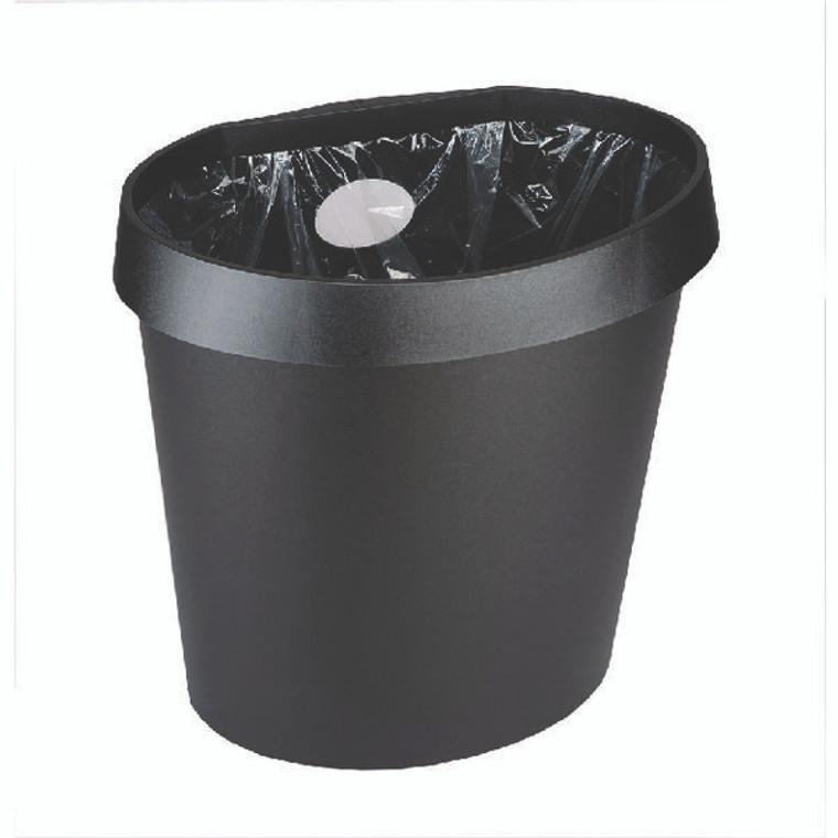 AV12979 Avery DTR Eco Waste Bin 18 Litre Black DR500BLK