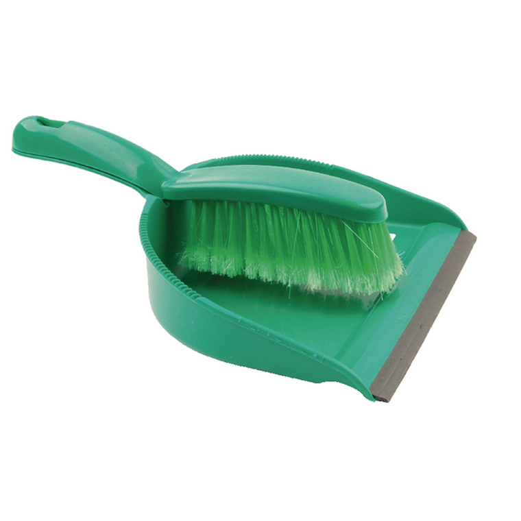 CX03968 Dustpan Brush Set Green 102940GN