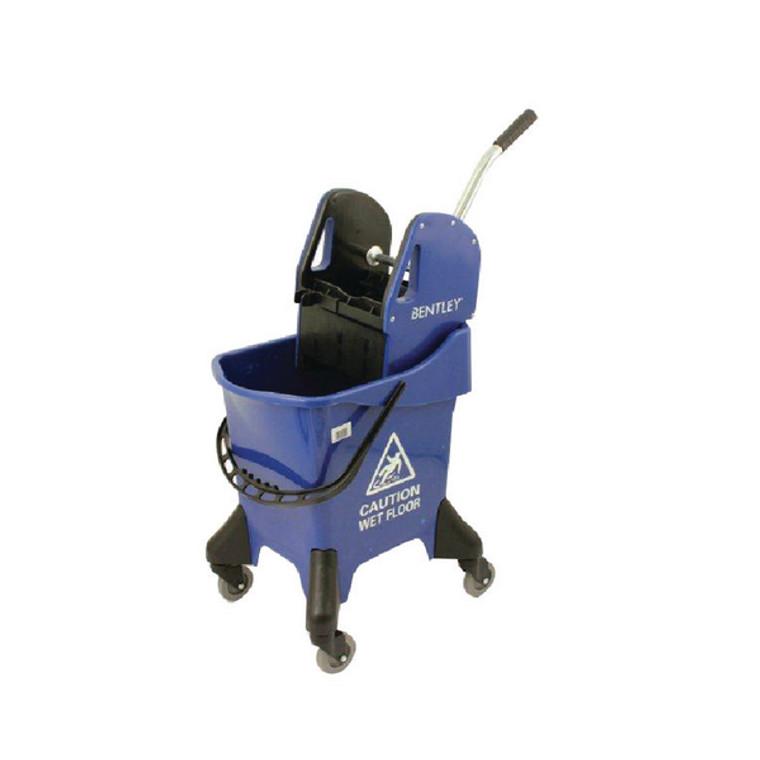CX06295 Hygineer Ergonomic Heavy Duty Mop Bucket Blue 31 Litre HRMB31 B