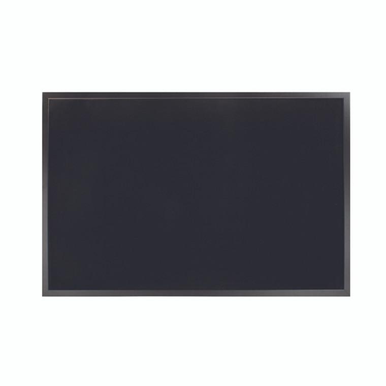 BQ04361 Bi-Office Softouch Surface Noticeboard 900x600mm Black FB0736169