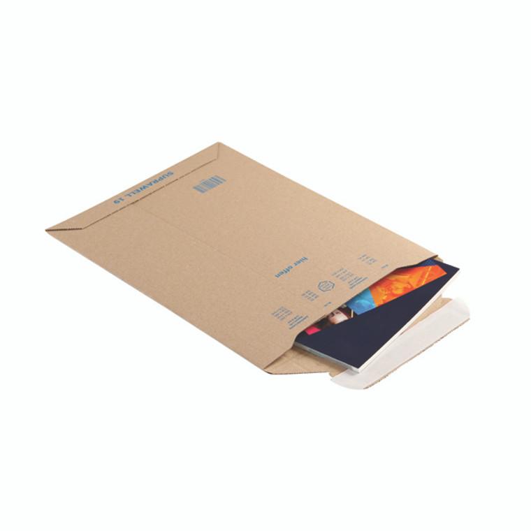 BLK71861 Blake Corrugated Board Envelope 280 x 200mm A5 Pack 100 PCE19