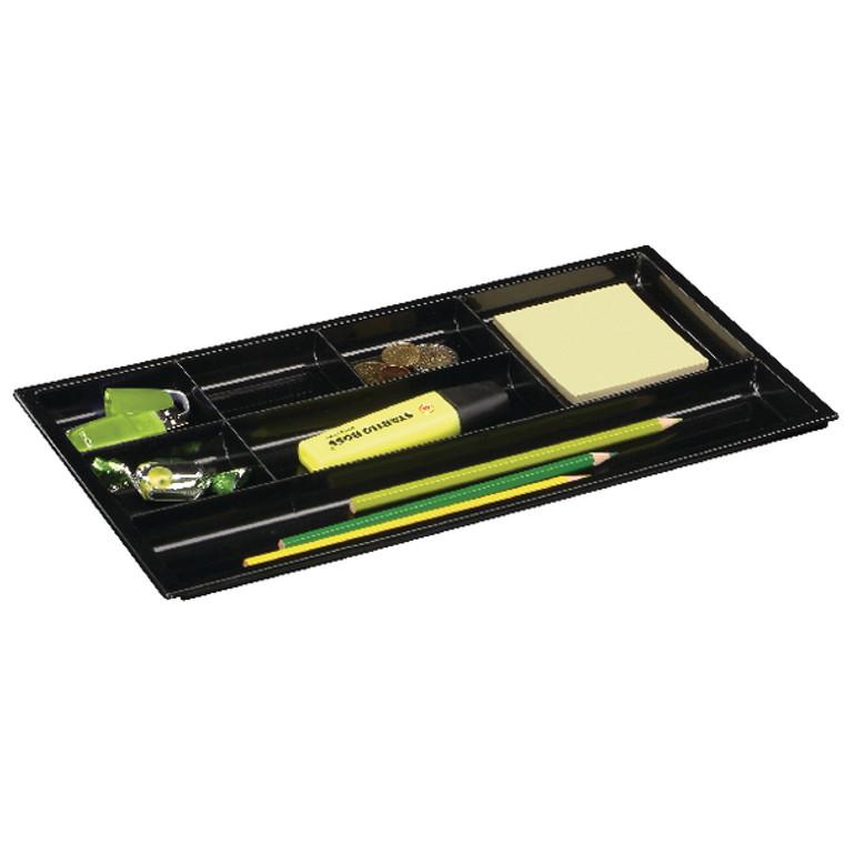 CEP49102 CEP Drawer Black Organiser W344 x D185 x H20mm 149 4