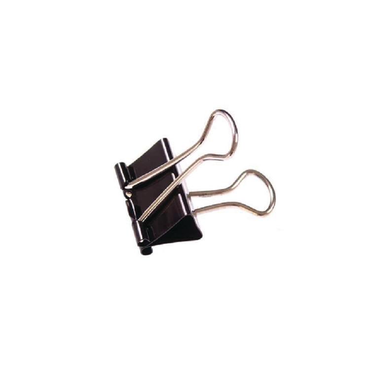 WS23081 Foldback Clip 32mm Black Pack 100 23081