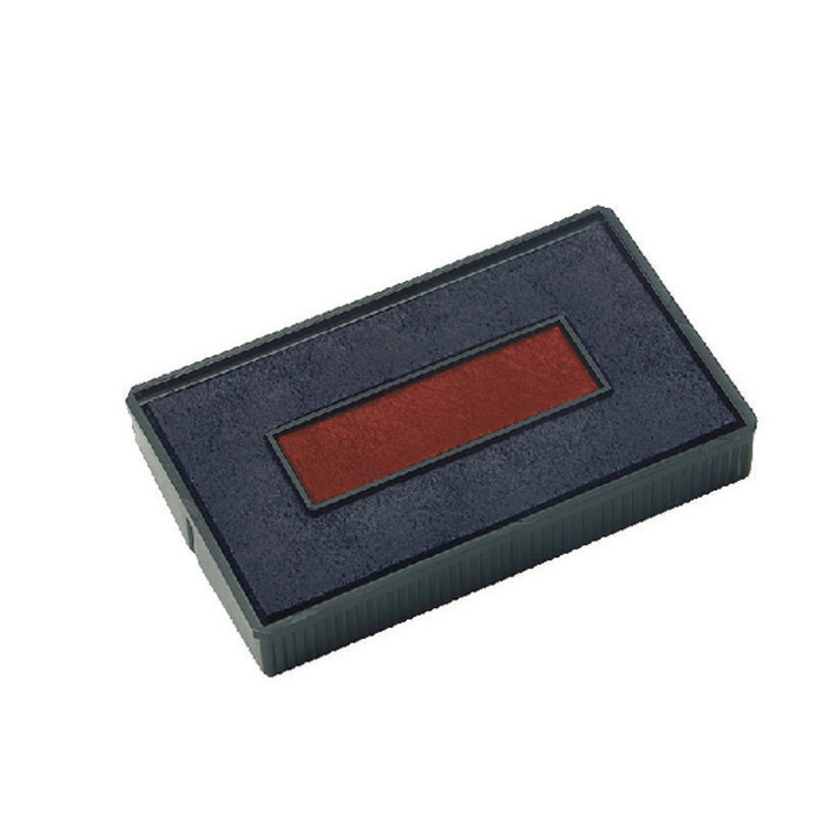 EM30456 COLOP E 200 2 Replacement Ink Pad Blue Red Pack 2 E 200 2