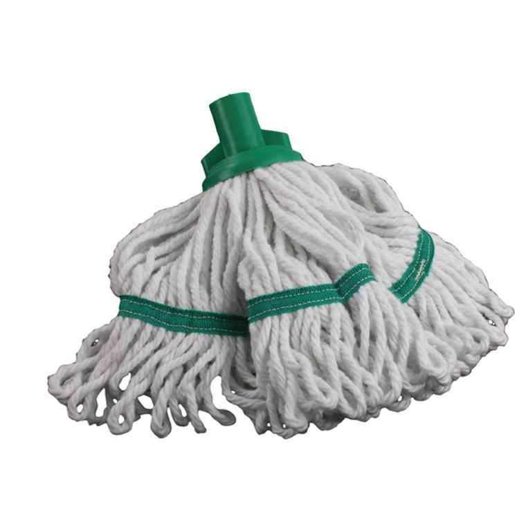 CNT00493 180g Hygiene Socket Mop Head Green 103061GN