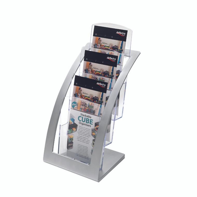DF02806 Deflecto Contemporary Counter Top Stand 693745