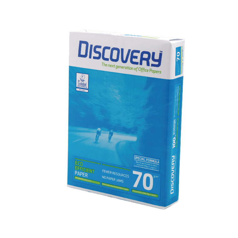 MO32842 Discovery A4 Paper 70gsm White 500 Sheets 59912
