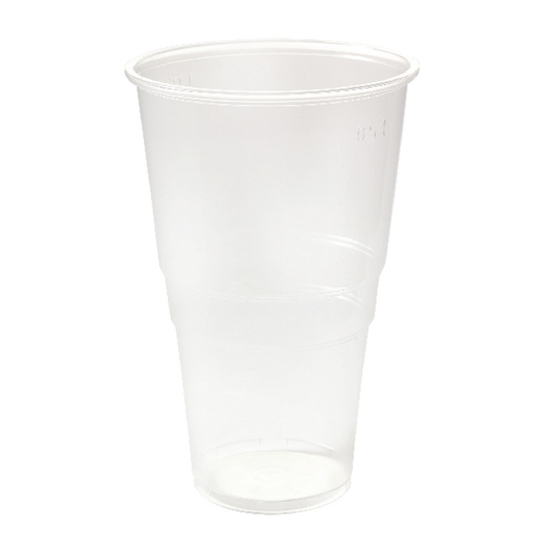 CPD31671 Plastic Pint Glass Clear Pack 50 0510043