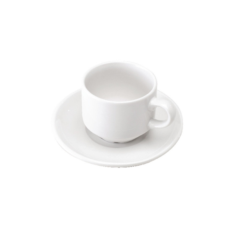 CPD30092 Cup Saucer Pack 6 White 305091