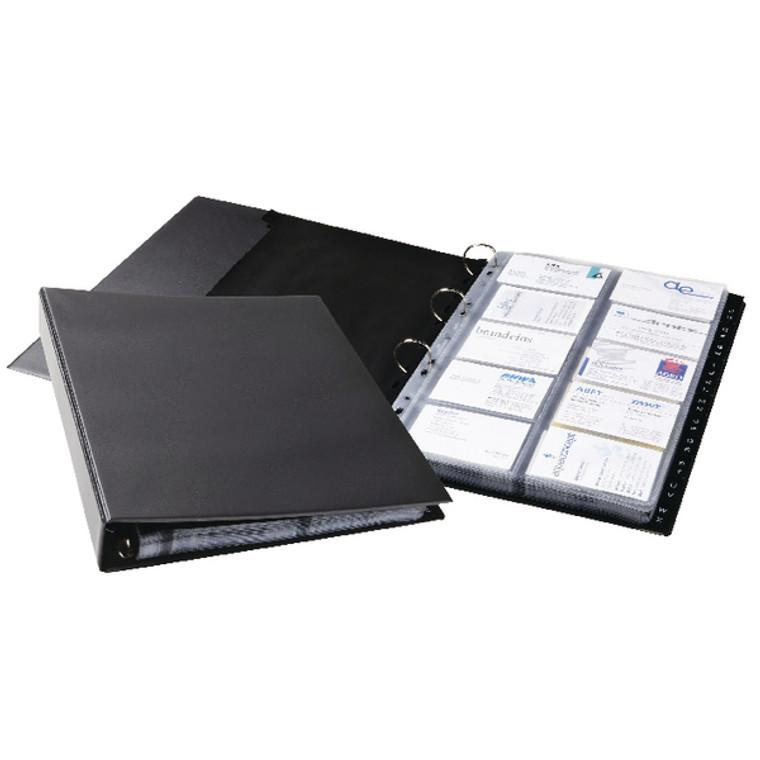 DB21622 Durable Visifix Economy Business Card Album A4 2444 01