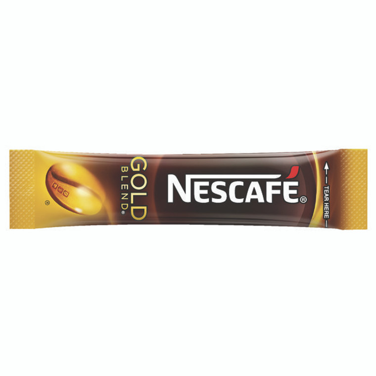 NL72757 Nescafe Gold Blend One Cup Sticks Coffee Sachets Pack 200 12151864