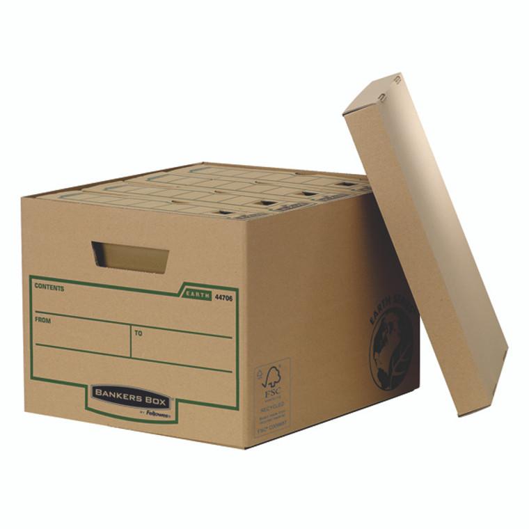 BB00900 Fellowes Bankers Box R-Kive Earth Storage Box Brown Pack 10 4470601