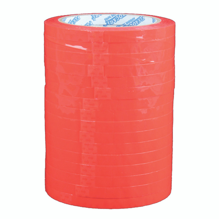 MA19734 Polypropylene Tape 9mmx66m Red Pack 16 70521252