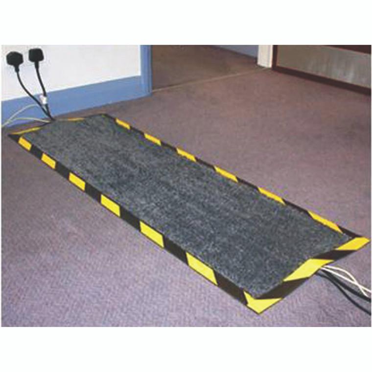 FL74427 Floortex Kable Mat 400x1200mm Black FCKAB40120
